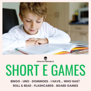 Short Vowels CVC Bingo - Short E