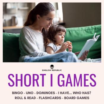 Short Vowels CVC Bingo - Short I
