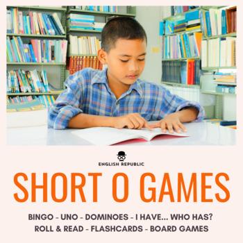 Short Vowels CVC Bingo - Short O
