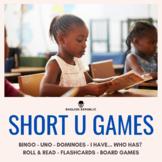 Short U Games - CVC Bingo, Dominoes, and other Board Games