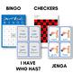 Short Vowels CVC Bingo - Short U