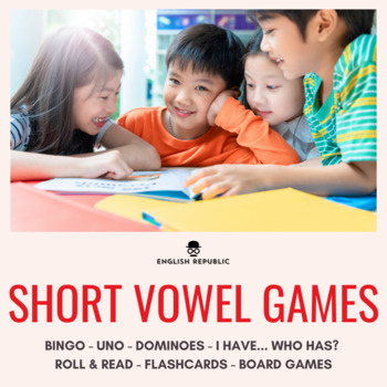 Short Vowels CVC Board Game - Island Hoppers