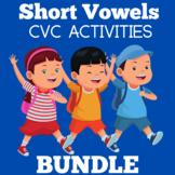 Short Vowels | Worksheets Activity | Preschool Kindergarte