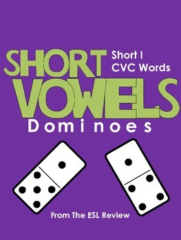 Short Vowels CVC Dominoes - Short I