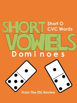 Short Vowels CVC Dominoes - Short O