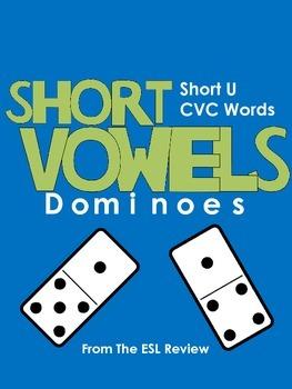 Short Vowels CVC Dominoes - Short U