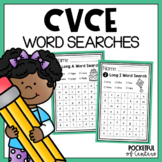 CVCe Words Worksheets / Word Searches - Distance Learning