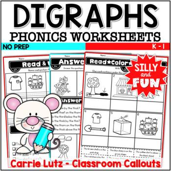 Phonics Worksheets Bundle