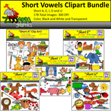 Short Vowels Clipart Bundle