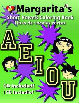 Short Vowels Coloring Book