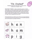 Short Vowel Word Building Literacy Centers Spring Eggs RF.K.3