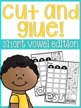 Short Vowels Cut and Glue