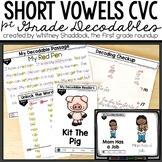 Short Vowels Decodable Texts BUNDLE