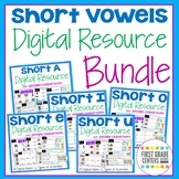 Short Vowels Google Classroom Distance Learning