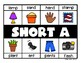 Short Vowels Exit Tickets and Posters