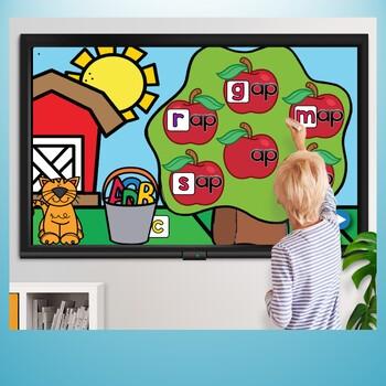 Short Vowels Farm Fun {Promethean Flipchart}