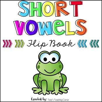 Phonics Flip Book: Short Vowels