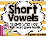 Short Vowels Game Bundle