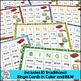 """Short Vowels Game: """"R"""" Blends BINGO"""