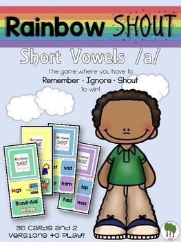 Short Vowels Game - Rainbow Shout - Short a