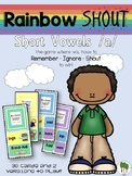 Short Vowels Game - Rainbow Shout - Short a