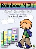 Short Vowels Game - Rainbow Shout - Short u