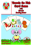 SHORT VOWELS Go Fish Card Game - fun way to learn short vo