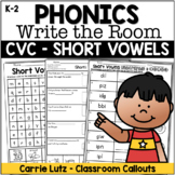 Short Vowels Write the Room
