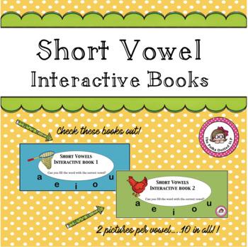 Short Vowels Interactive Books