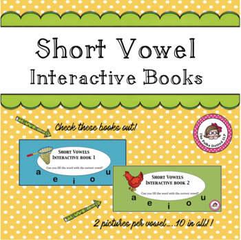 Short Vowels Interactive Book