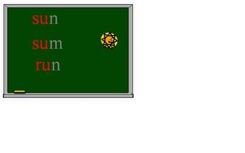 Short Vowels Interactive Decoding Activity