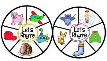 Short Vowels Interactive Learning Wheels Set