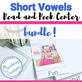 Reading Fluency with Short Vowels Center BUNDLE