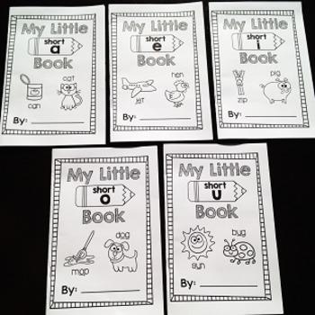 Short Vowels Little Books Bundle