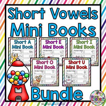 Short Vowels Mini Books Bundle