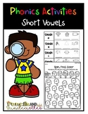 Short Vowels No-Prep
