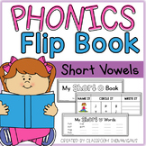 Short Vowels CVC Phonics Builder Booklets