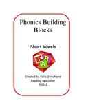 Short Vowels Phonics Building Blocks 5 Unit Program