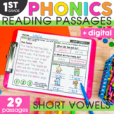 Short Vowels Phonics Mats 1st Grade