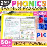 Short Vowels Phonics Mats 2nd Grade
