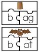 Short Vowels Puzzles BUNDLE  (Color & BW)