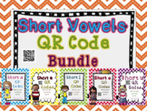 Short Vowels QR Codes Bundle
