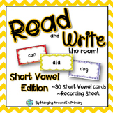 Short Vowels Literacy Center