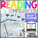 Short Vowels Reading Comprehension Passages | Distance Lea