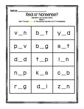 Short Vowels:  Real or Nonsense?