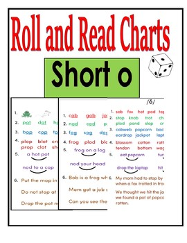 Short Vowels Roll and Read - Short o