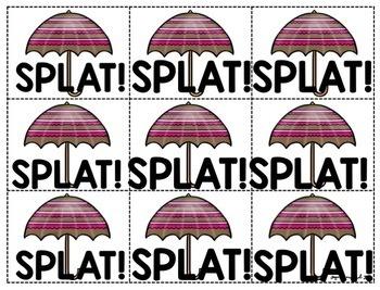 Short Vowels Games - Rainy Day SPLAT Bundle