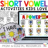 Short Vowels   SUPER BUNDLE   Distance Learning