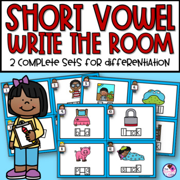 Short Vowel Write the Room Activity
