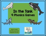 Short Vowels ( Whales and Sharks )
